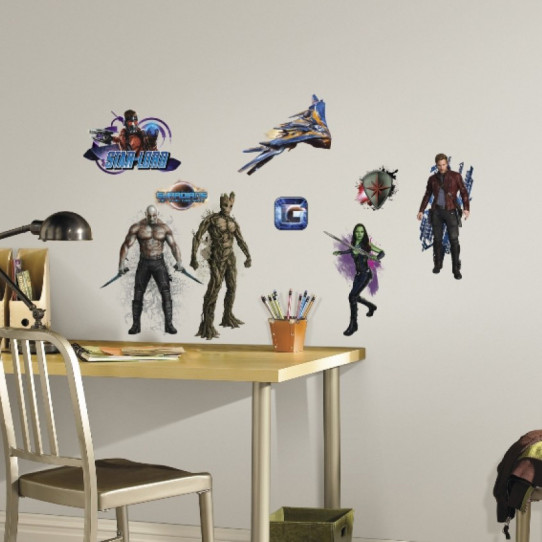 18 Stickers Les Gardiens de la Galaxie Marvel