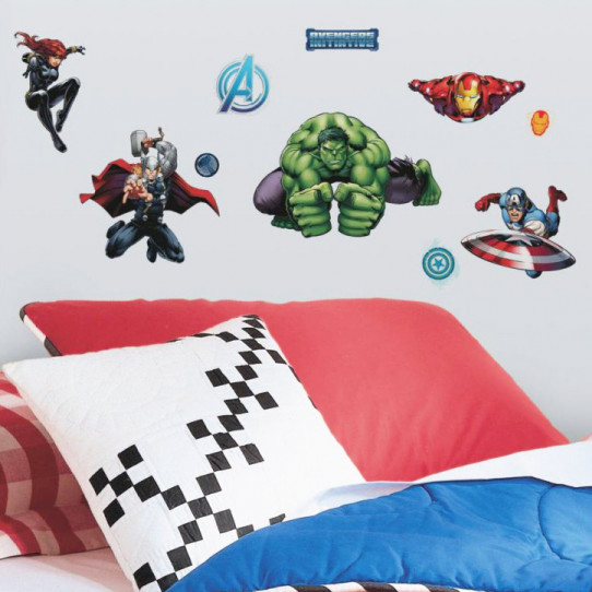 28 Stickers Avengers Assemble Marvel