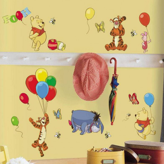 38 Stickers Winnie l'ourson Disney