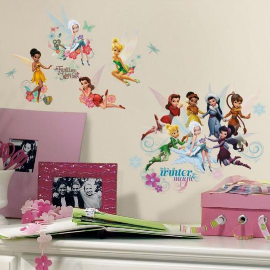 54 Stickers géant Fée Clochette et le Secret des fées Disney