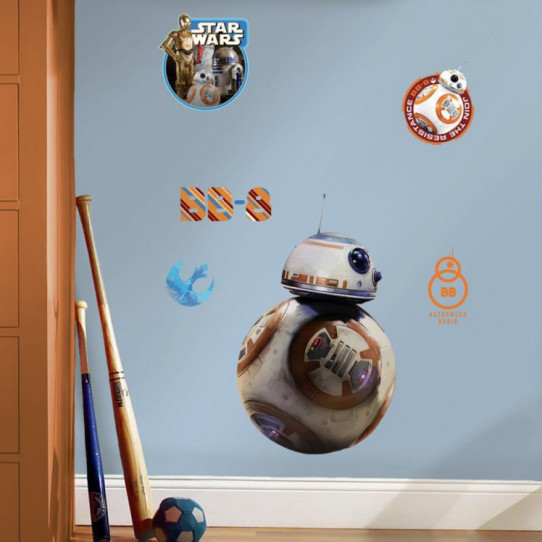 6 Stickers Géant BB-8 Star Wars