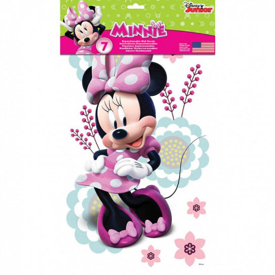 7 Stickers Minnie Mouse Disney