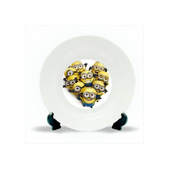 Assiettes blanches  Ø : 20 cm