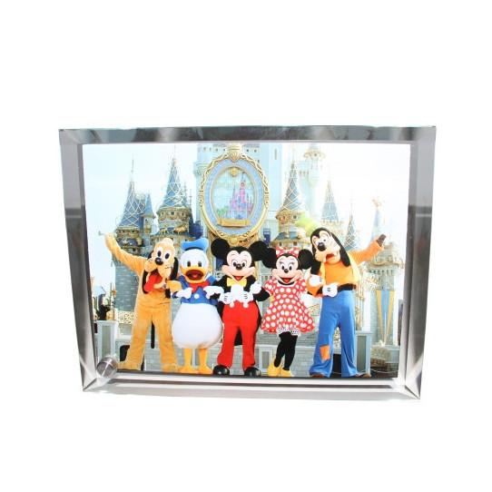 Cadre Photo en verre contour Biseauté Grand Format
