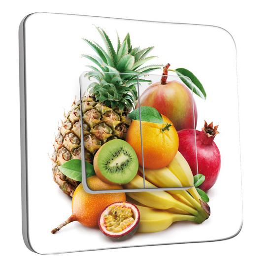 Interrupteur Décoré Double Va et Vient - Cuisine Life style Fruits2