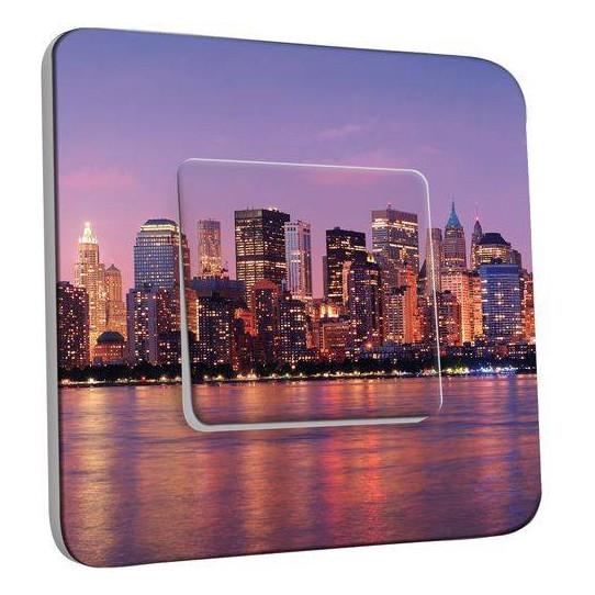 Interrupteur Décoré Poussoir - New York Color