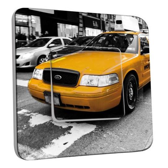 Interrupteur Décoré Poussoir - Taxi