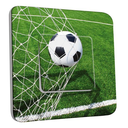 Interrupteur Décoré Simple Va et Vient - Ballon de Foot-BUT
