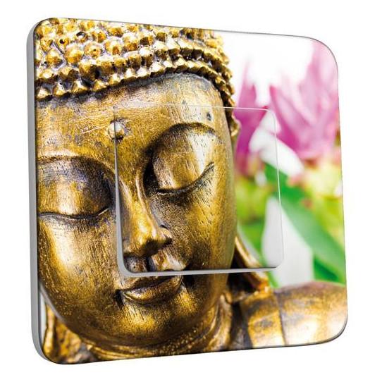 Interrupteur Décoré Simple Va et Vient - Bouddha