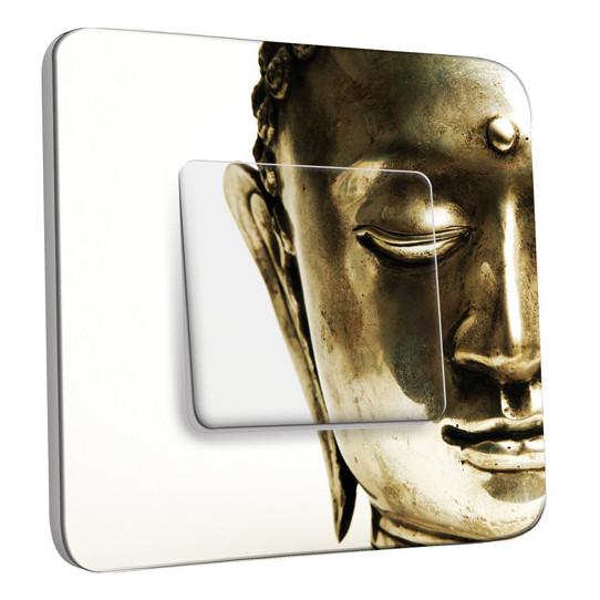 Interrupteur Décoré Simple Va et Vient -  Bouddha 2