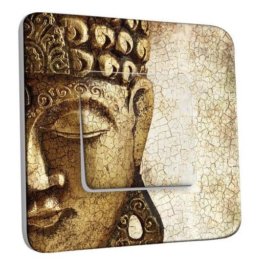 Interrupteur Décoré Simple Va et Vient - Bouddha 3