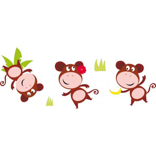 kit stickers 3 singes