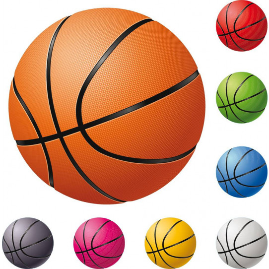 kit Stickers 8 ballons de basketball