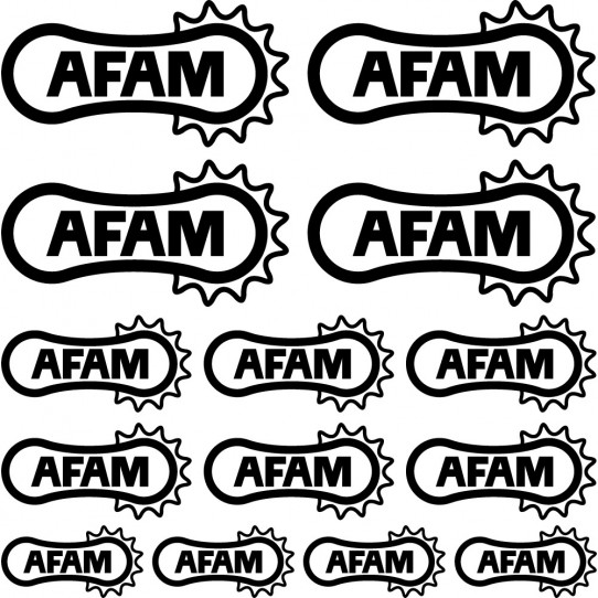 Kit stickers afam