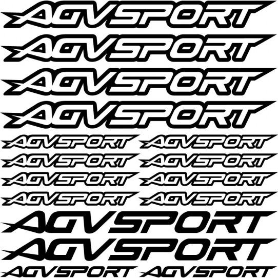 Kit stickers agvsport