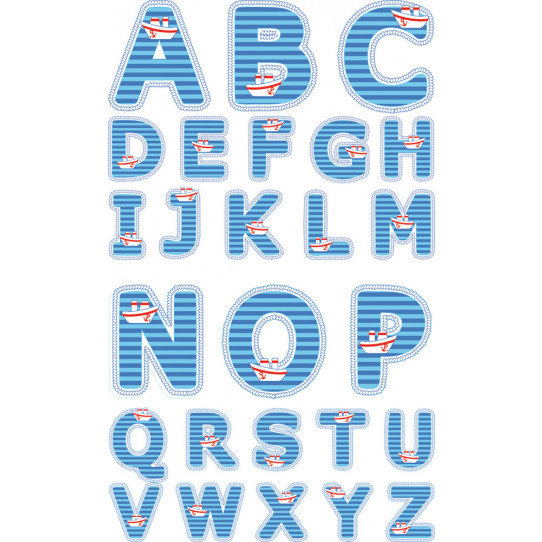kit Stickers alphabet