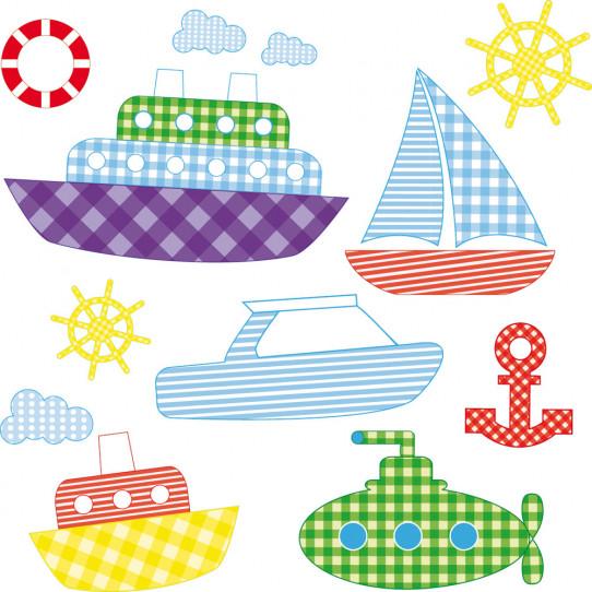 kit Stickers bateaux