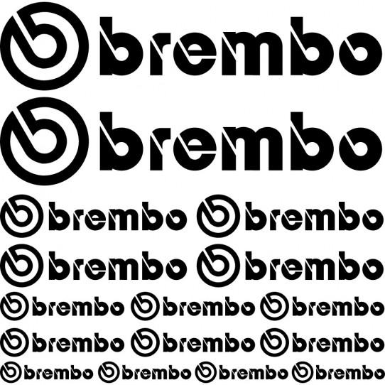 Kit stickers brembo