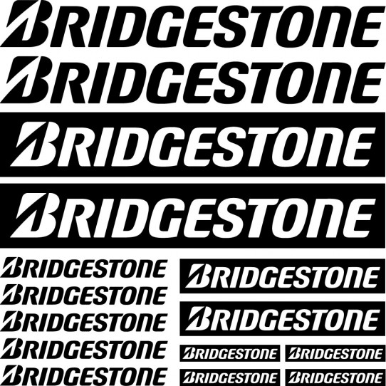 Kit stickers bridgestone