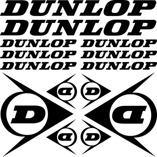 Kit stickers dunlop