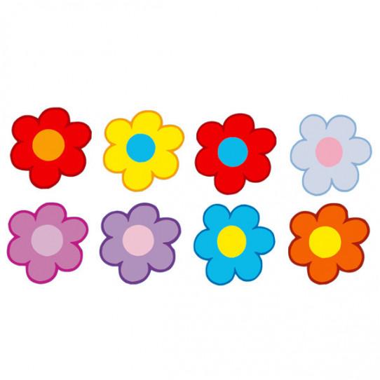 kit Stickers Fleurs