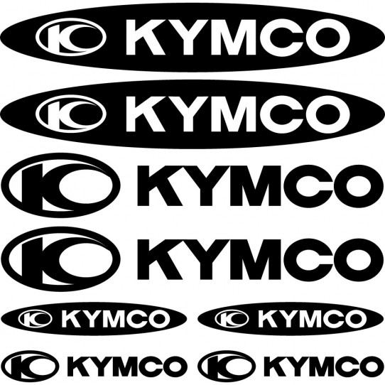 Kit stickers kymco