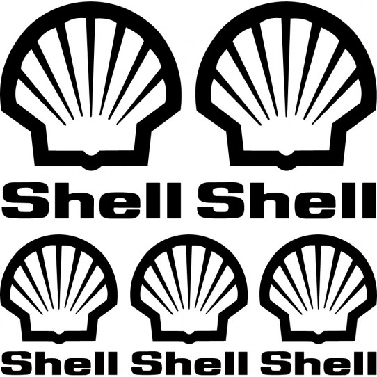 Kit stickers shell
