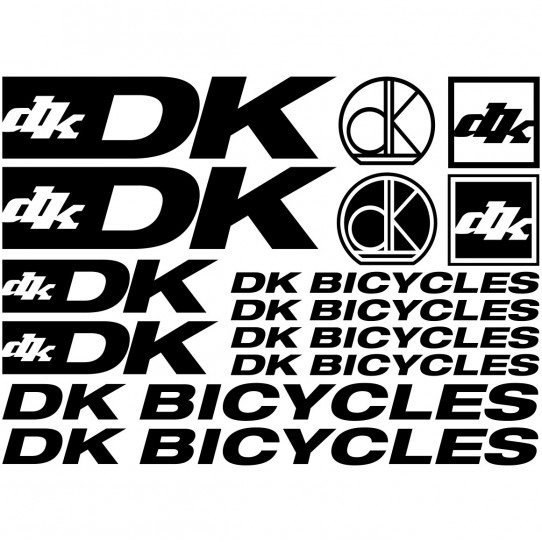 Kit stickers vélo dk bicycles