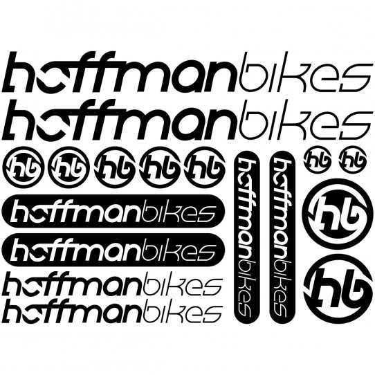 Kit stickers vélo hoffman bikes