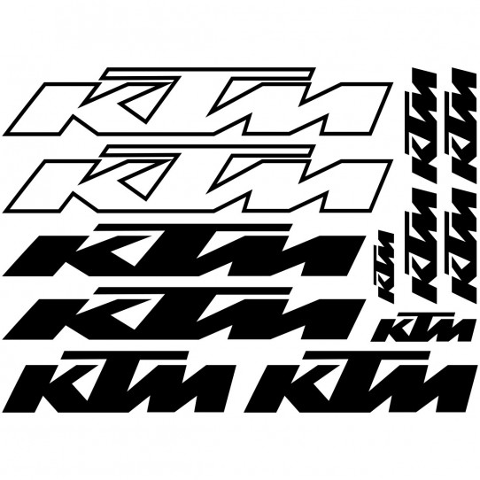 Kit stickers vélo ktm bikes