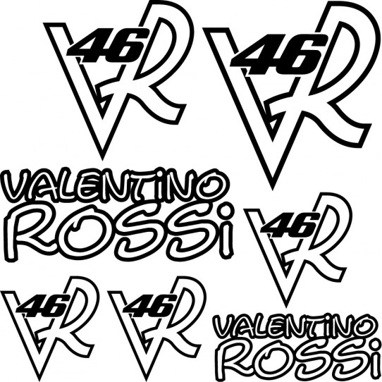 Kit stickers vr 46