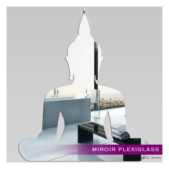 Miroir Plexiglass Acrylique - bouddha