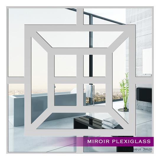Miroir Plexiglass Acrylique - Carré 2