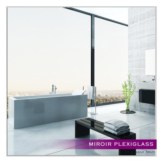 Miroir Plexiglass Acrylique - Carré Maxi