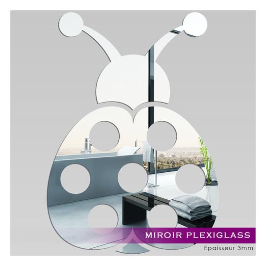 Miroir Plexiglass Acrylique - Coccinelle