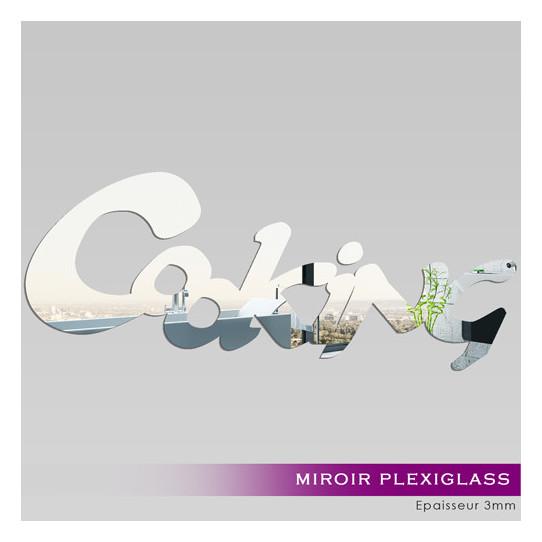 Miroir Plexiglass Acrylique - Cooking