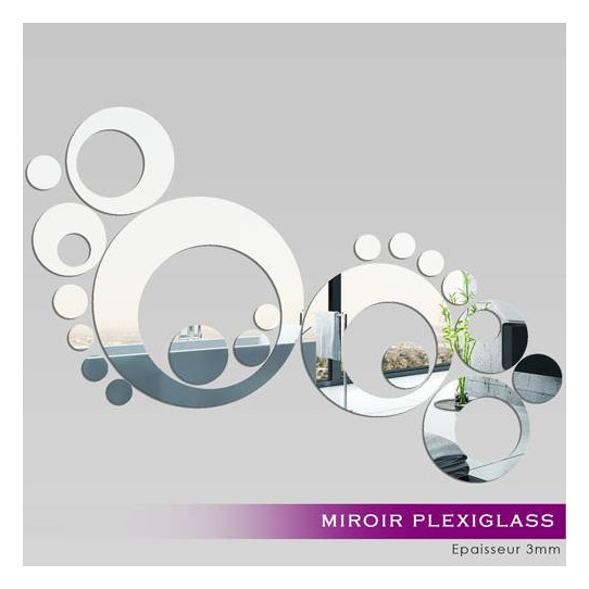 Miroir Plexiglass Acrylique - Design 7
