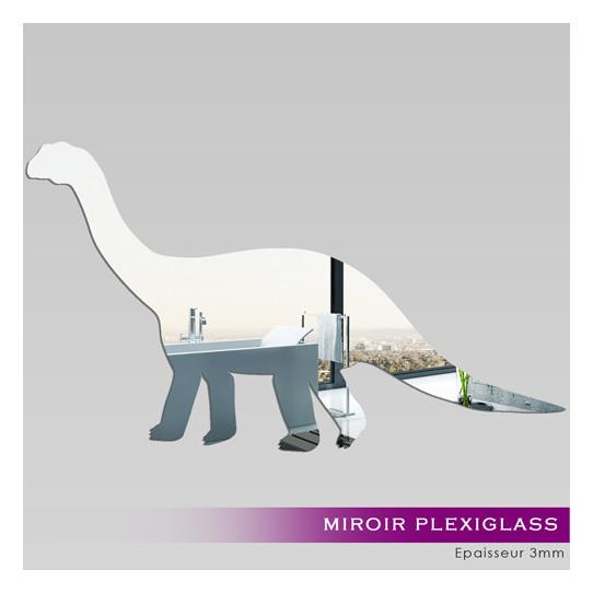 Miroir Plexiglass Acrylique - Dinosaure