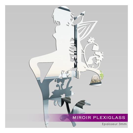 Miroir Plexiglass Acrylique Fée