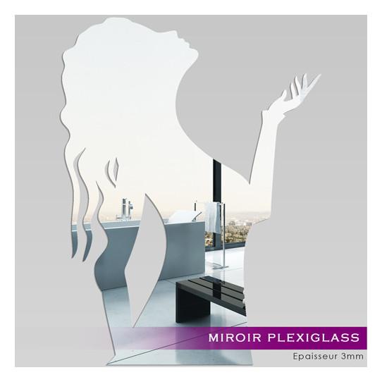 Miroir Plexiglass Acrylique - Femme