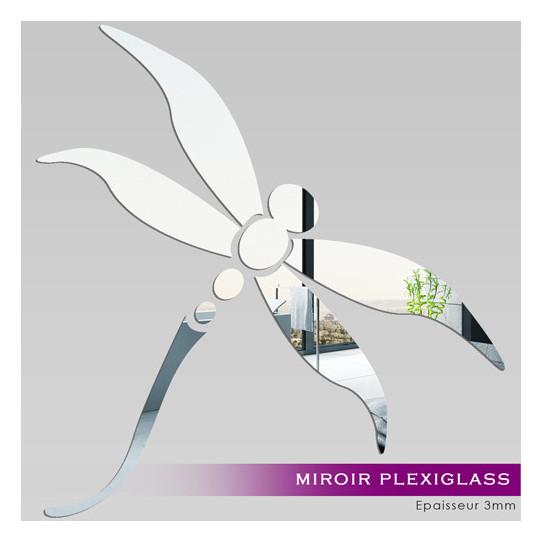 Miroir Plexiglass Acrylique - Libellule 1