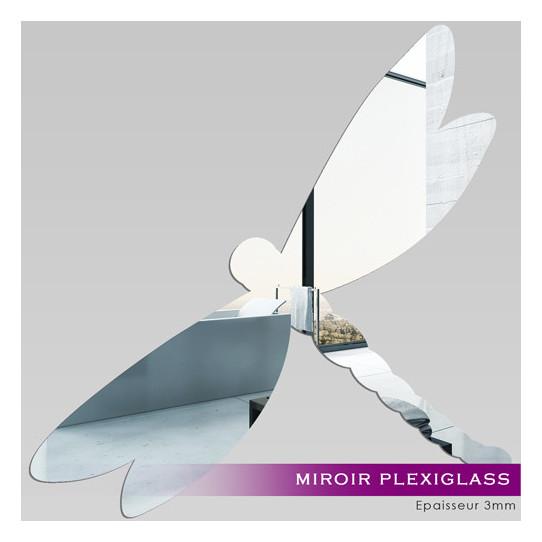 Miroir Plexiglass Acrylique - Libellule