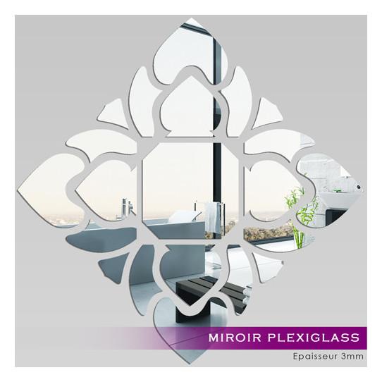 Miroir Plexiglass Acrylique - Losange design