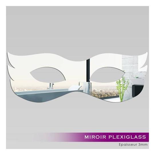 Miroir Plexiglass Acrylique - Masque de Venise