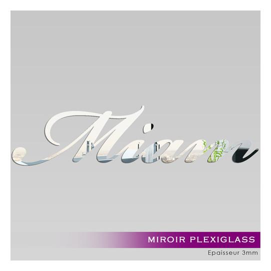 Miroir Plexiglass Acrylique - Miam