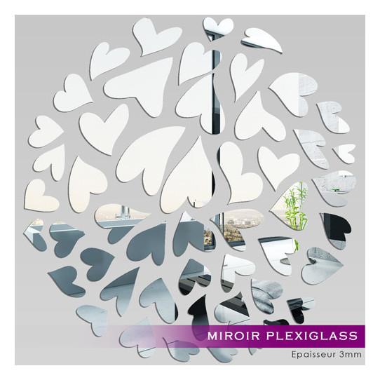 Miroir Plexiglass Acrylique - MilleCoeurs