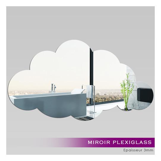 Miroir Plexiglass Acrylique - Nuage