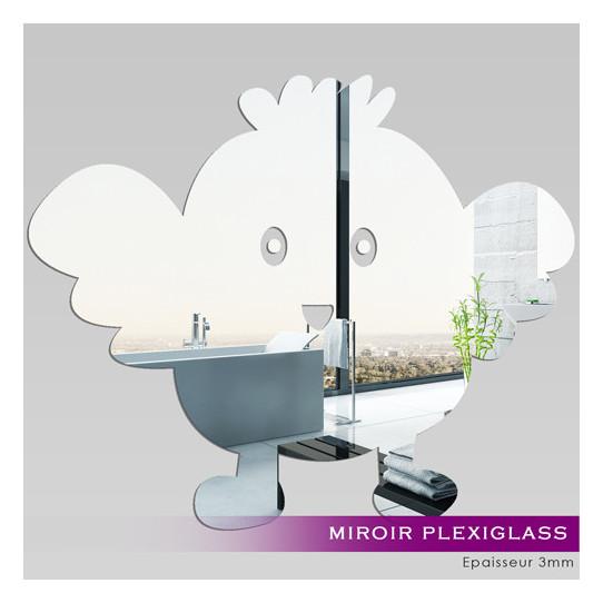 Miroir Plexiglass Acrylique - Oiseau