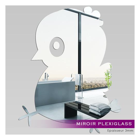 Miroir Plexiglass Acrylique piou piou