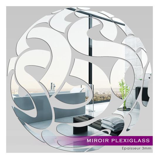 Miroir Plexiglass Acrylique - Rond design